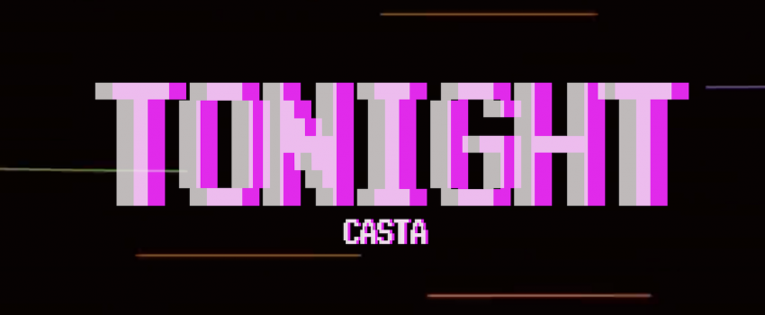 """""""Tonight"""" is the second single by Casta (ex Two Hicks One Cityman), taken from the debut EP """"Straight Outta 1991"""" out on February 5th 2021"""